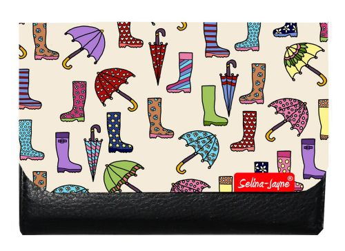 Selina-Jayne Wellies and Brollies Limited Edition Designer Small Purse